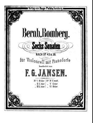 Sonata Op. 43 N. 1 Si B (Jansen)