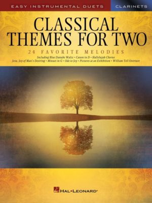 Classical Themes for Two Clarinets