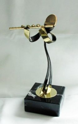 Bipem Art - Dwarsfluit Fluit speler