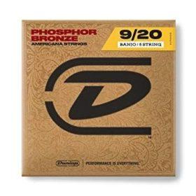 Dunlop DJP0920 Phosphor Bronze Light Banjo