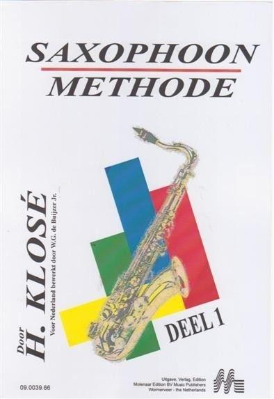 H. Klose: Saxophoon Methode, deel 1