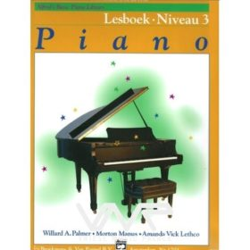 Alfred's Basic Piano Library Lesboek Niveau 3