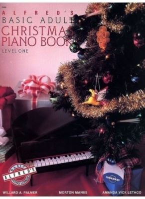 Alfred's Basic Adult; Christmas Piano Book, level 1