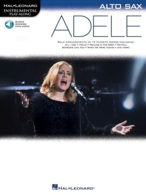 Adele - Alto Sax (+Audio Access)