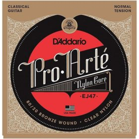 D'addario EJ47 80/20 Bronze wound clear nylon