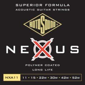 Rotosound Nexus NXA11 Polymer Coated Long Life