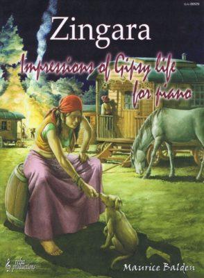 Zingara; Zigeunermuziek voor Piano