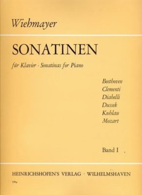 Wiehmayer: Sonatinen, Band I