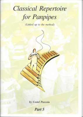 Classical Repertoire for panpipes 5