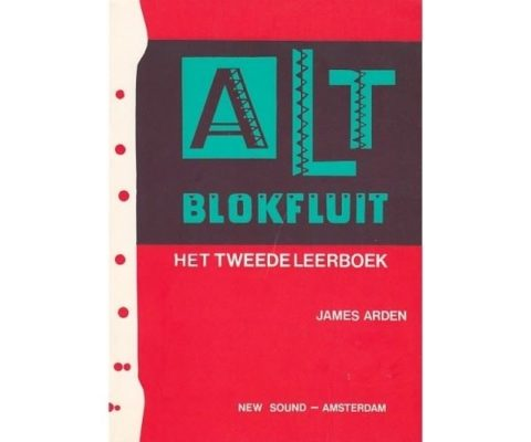 Altblokfluit 2 James Arden
