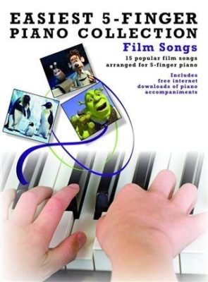 Easiest 5-Finger Piano Collection: Film Songs