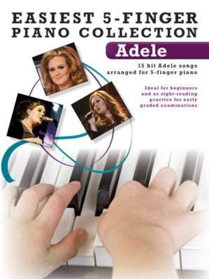 Easiest 5-Finger Piano Collection; Adele