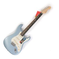 Fender Fender American Elite Stratocaster Ebony Satin Ice Blue Metallic