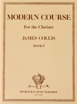 James Collis; Modern Course for the Clarinet, Book 5