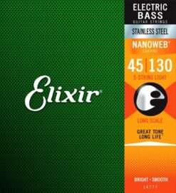 Elixir Nanoweb 14777 Medium Stainless steel