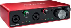 Focusrite Scarlett 4I4 3th Gen