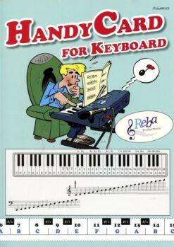 Handy Card for Keyboard