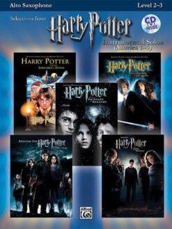 Harry Potter Instrumental Solos Movies 1-5 (+CD)