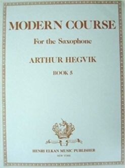 Modern Course Book 5 - Saxophone