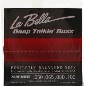 La Bella 760FHBB Flatwound Beatle Bass