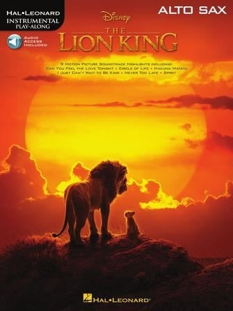 The Lion King - Alto Sax