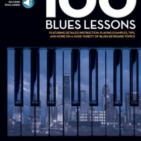 100 Blues Lessons (+Audio Access)