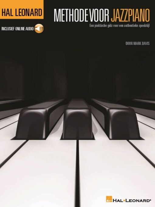 Methode voor Jazzpiano (+Audio Online)