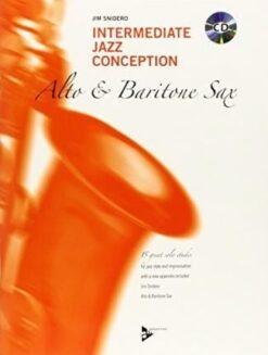 Intermediate Jazz Conception for Alto & Baritone Sax