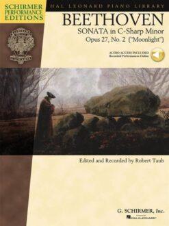 Beethoven: Sonata in C-Sharp Minor; Opus 27, No. 2 (+Audio Acess)