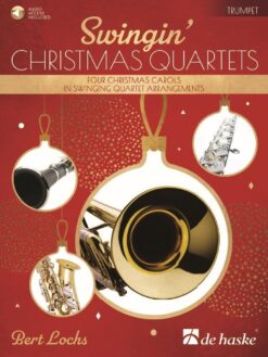 Swingin' Christmas Quartets (+ Audio Access)