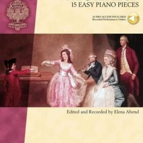 Piano Library; MOZART; 15 Easy Piano Pieces (+Audio Access)