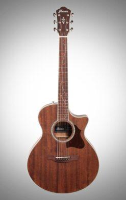 Ibanez AE245JR Open Pore Natural elektrisch akoestische gitaar