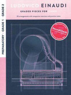 Ludovico Einaudi; Graded Pieces For Piano - Preparatory To Grade 2
