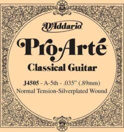 D'addario Pro Arte J4505 A-5th