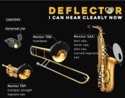 Deflector sound monitor