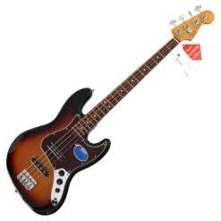 Fender 60s Jazz Bass®, Pau Ferro Fingerboard, 3-Color Sunburst